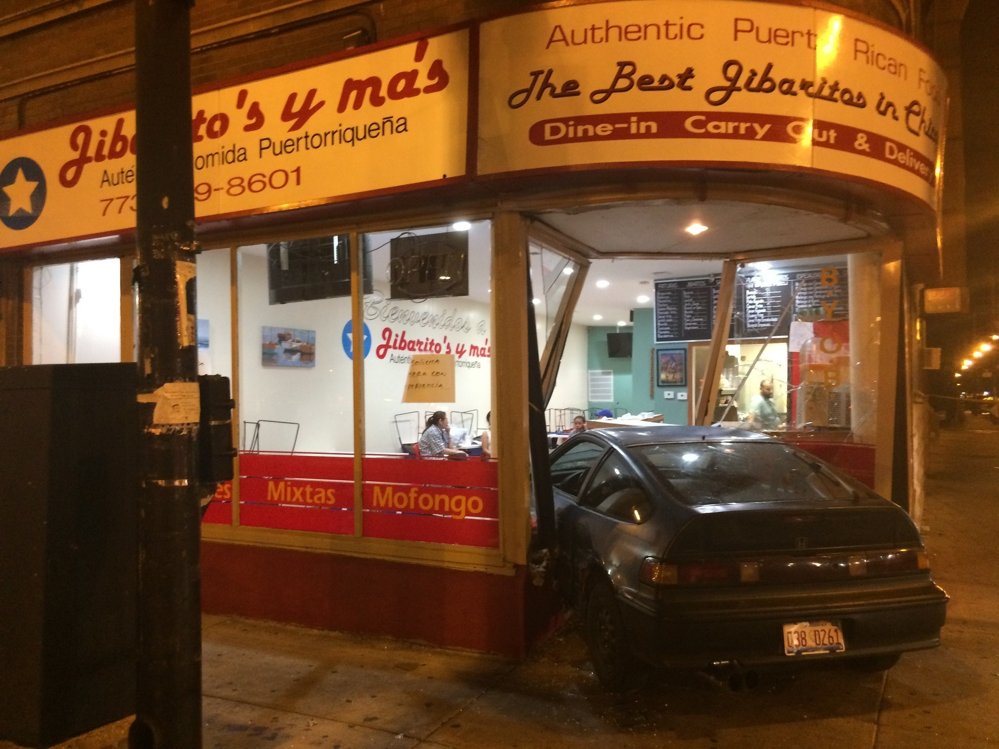Driver Cited Following Crash Into Logan Square Restaurant Chicago Tribune