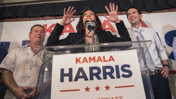 Senate candidate Kamala Harris pushing to help down-ballot ...