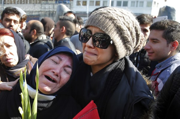 Funeral for firefighters killed in building collapse in ...