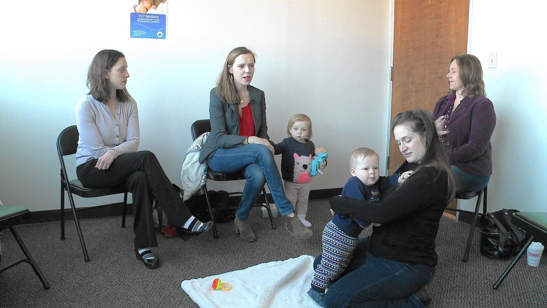 Moms With Postpartum Depression Find Comfort In Ct Support