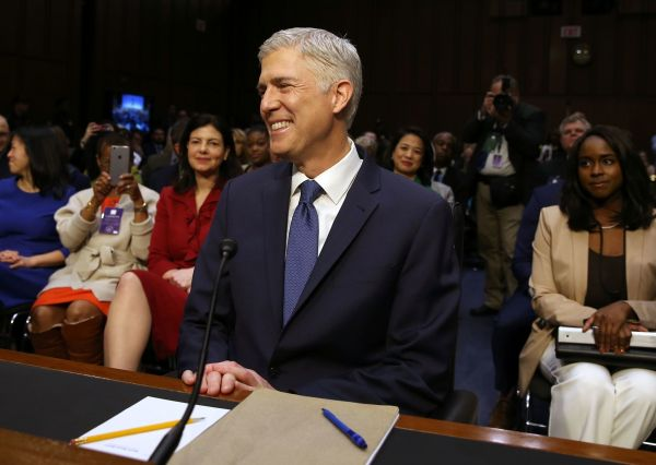 Twofer in congressional hearings today with Gorsuch and ...
