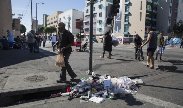 With L.A.'s skid row at a tipping point, a divisive vote ...