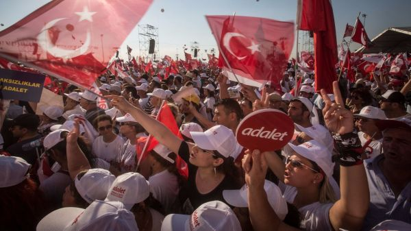 Turkish opposition leader ends 25-day march, rallies ...