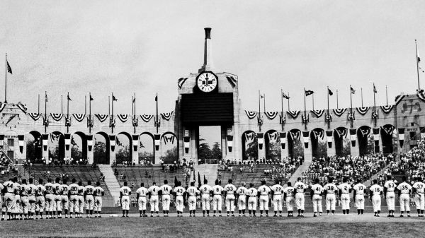 From the Archives: First Dodgers game in Los Angeles - LA ...