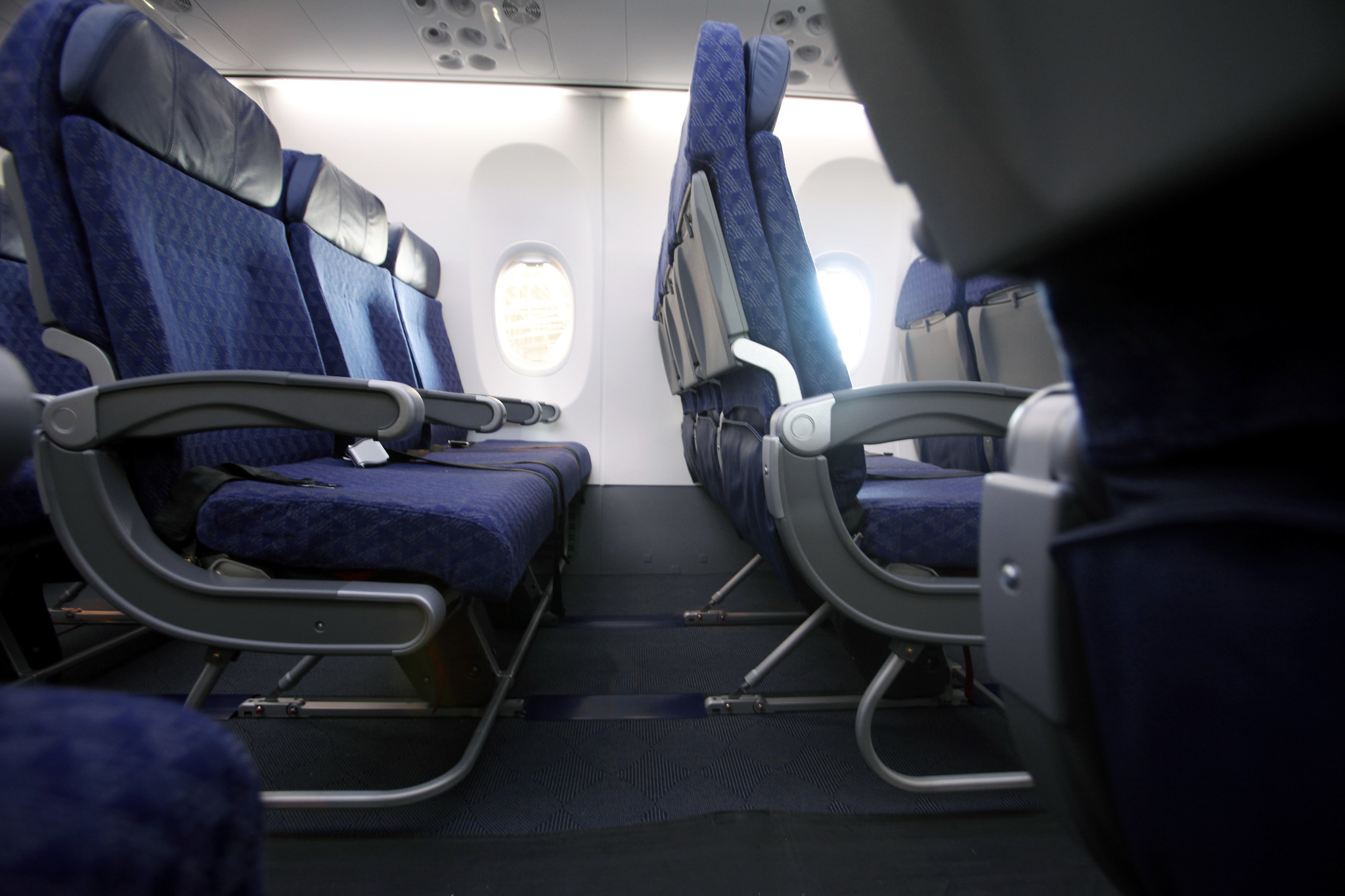 As Legroom On Planes Shrinks Is Passenger Safety