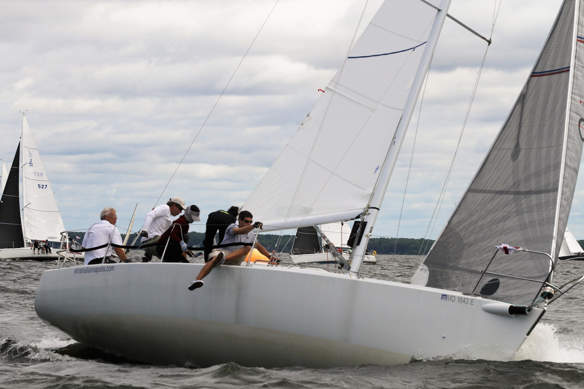 Conditions Much Improved For Finale Of Annapolis Labor Day