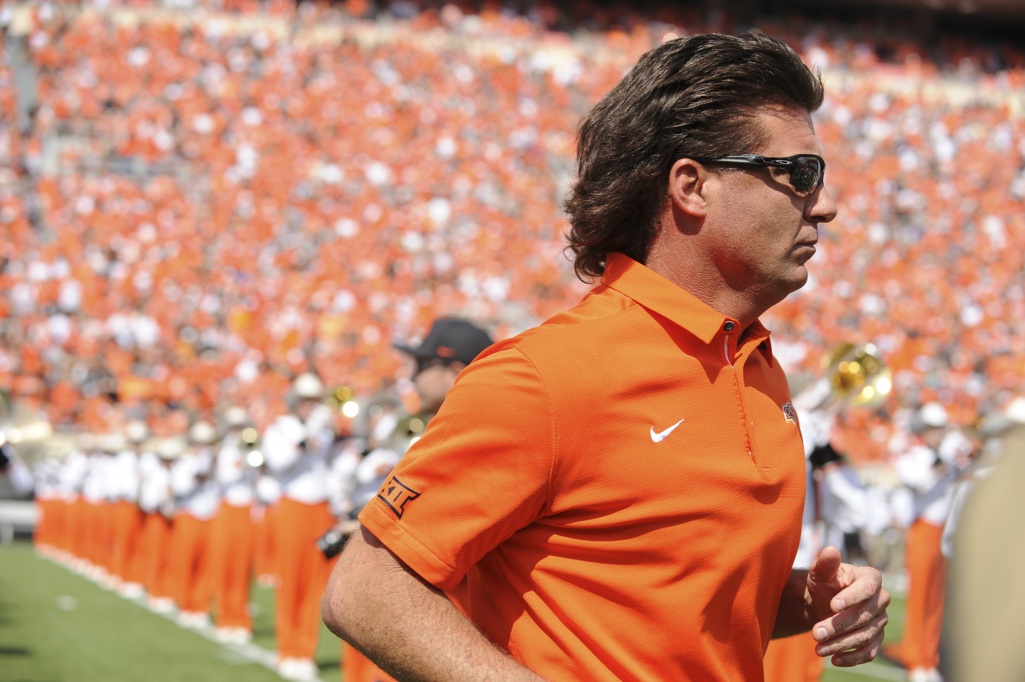 Mike Gundy The Man The Mullet The Marketing Machine At