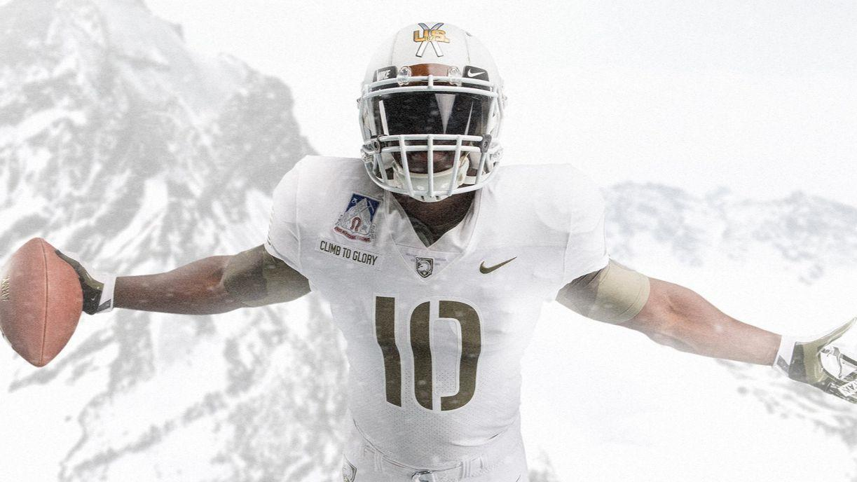 Against Navy Army Will Wear Uniforms Honoring 10th