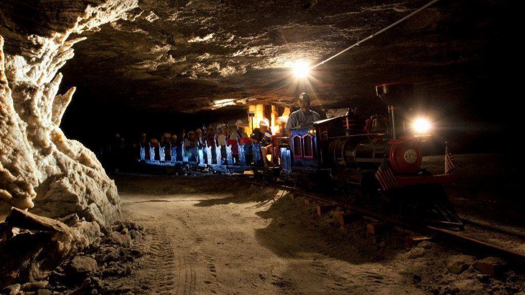 Underground America A Cavernous Light Show Salt Museum And Other Subterranean Surprises