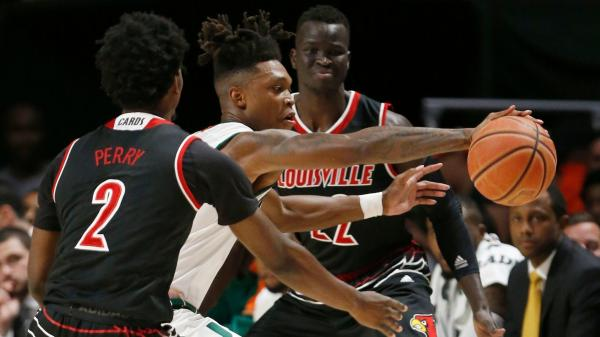 Hurricanes rally for 78-75 overtime win over Louisville in ...