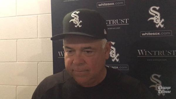 Rick Renteria and Jose Abreu on the inclement weather that ...
