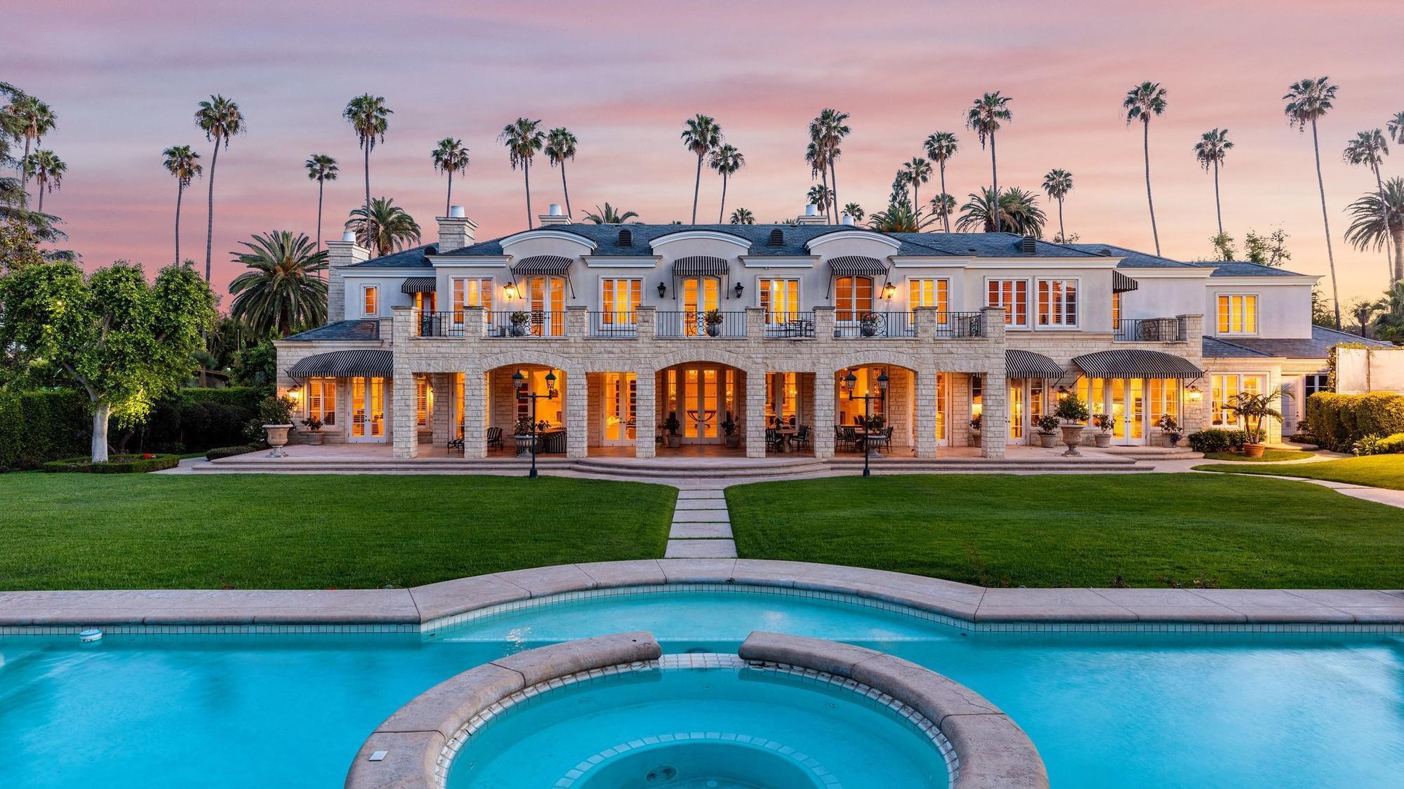 Beverly Hills Mansion Tied To Developer Rick Caruso Lists