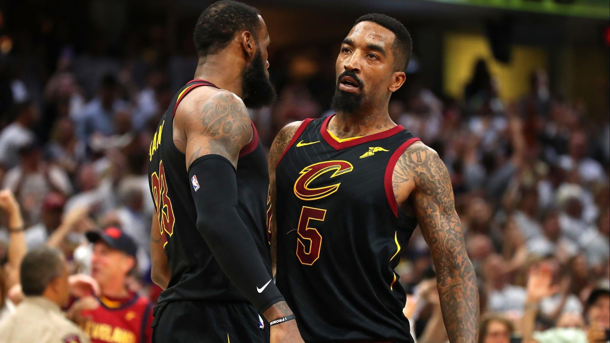 Cavaliers JR Smith On Playing With LeBron James Its