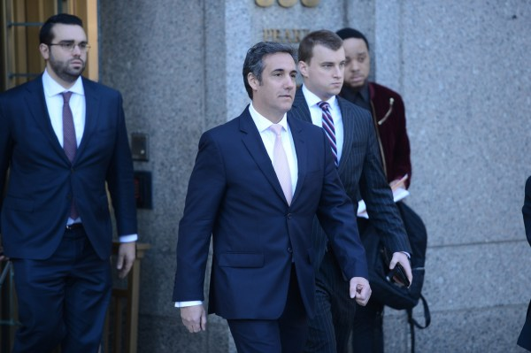 Did Michael Cohen just drop a hint about flipping on Trump ...