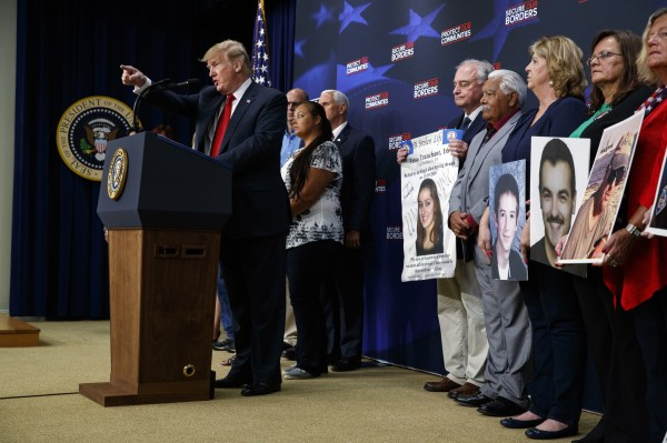 Dismissing 'phony stories of sadness' in immigration ...