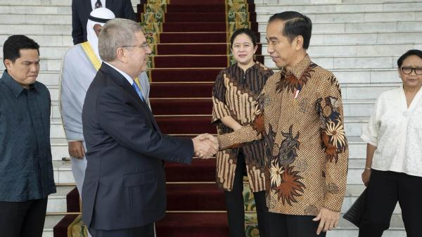 Indonesia announces surprise bid for 2032 Olympics - Daily ...