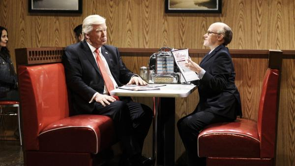Alec Baldwin returns as 'insane' Trump on 'SNL' - Orlando ...