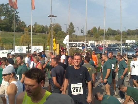 Sarajevski polumaraton 2009, pred start. Foto: Dragoslav Jotanović