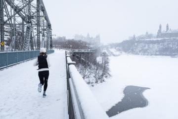 trčanje po zimi