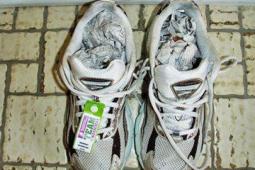 mokre patike za trčanje