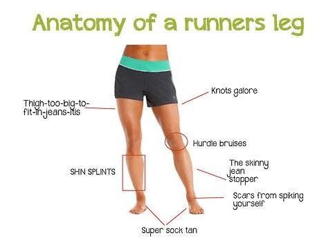 Noge jedne trkačice
