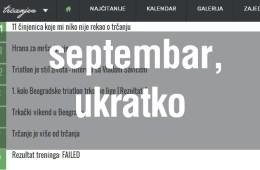 septembar na trcanje.rs