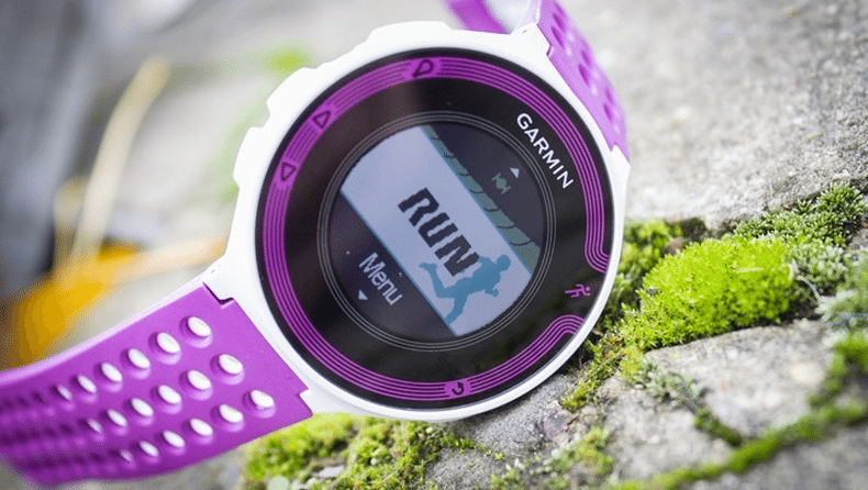 GARMIN Forrunner 220 purple