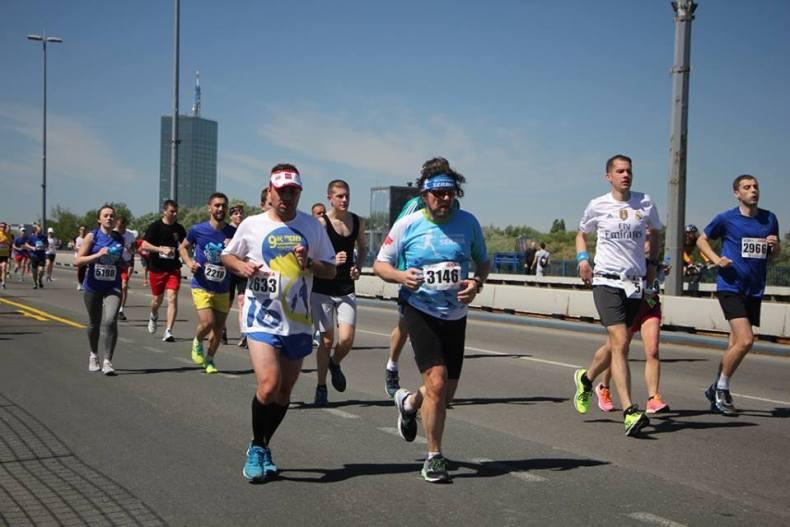 Beograd - maraton na kome naučimo da Brankov most nije ravan :)