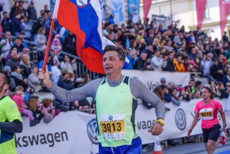 Cilj Ljubljanskog maratona