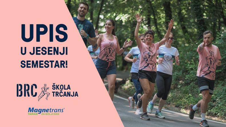 Upis u jesenji semestar BRC Škola trčanja