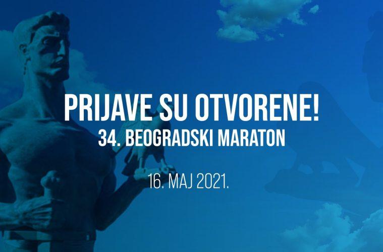 prijave za beogradski maraton