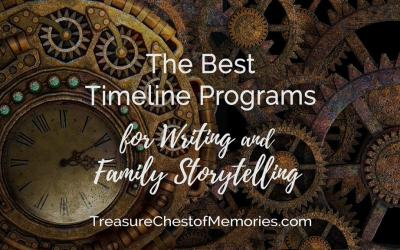 The Best Timeline Programs for Writing and Family Storytelling