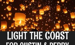 Locations for Austin and Perry Light up the Coast 7/24/16