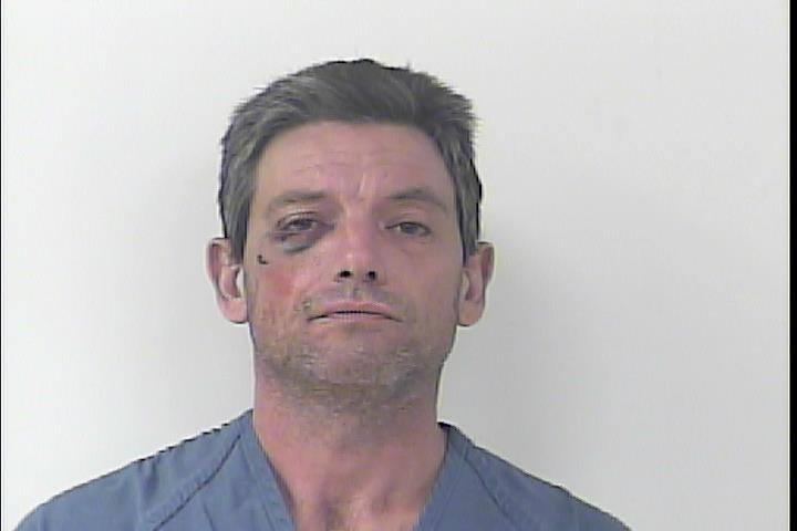 Firebombing incident leads to arrest of a 41 year old man.