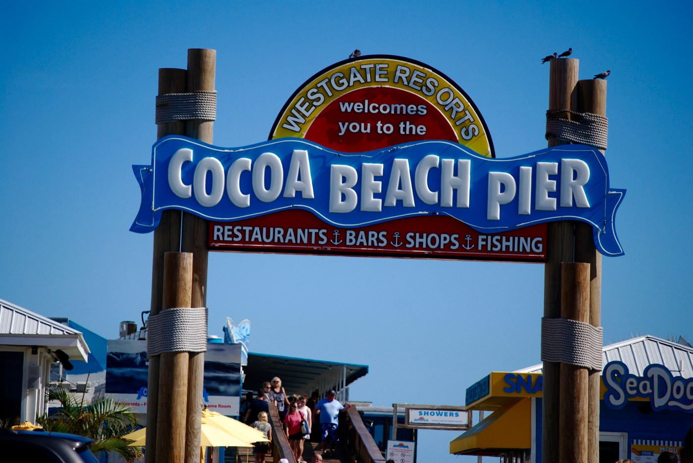 Cocoa Beach Pier Photo: Cyndi Lenz