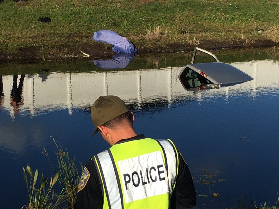PSL: Truck crashed into canal. One found dead.