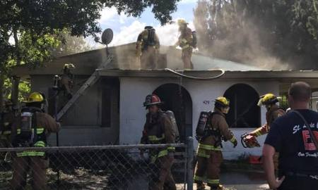 SLC Firefighters battled multiple fires today