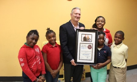 Dr. Lee Supports Arts at Boys & Girls Club