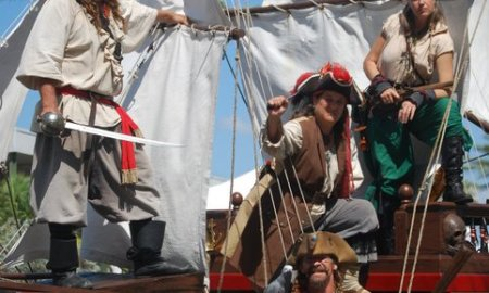 PIRATES INVADE RIVERSIDE PARK FOR THE ANNUAL VERO BEACH PIRATE FESTIVAL
