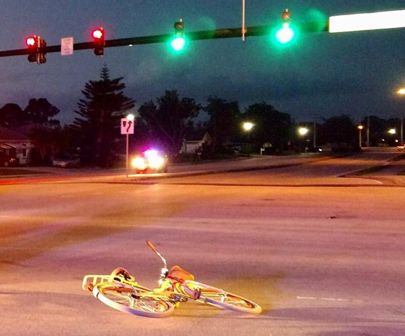 Bicyclist hospitalized, motorcyclist dead in Martin/StLucie counties