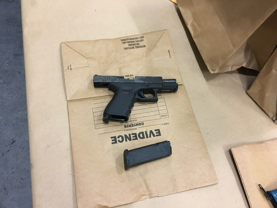 Arrests and gun found in teen drive by shooting