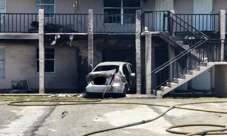 Fort Pierce: Man rams car with propane tanks into apartment building