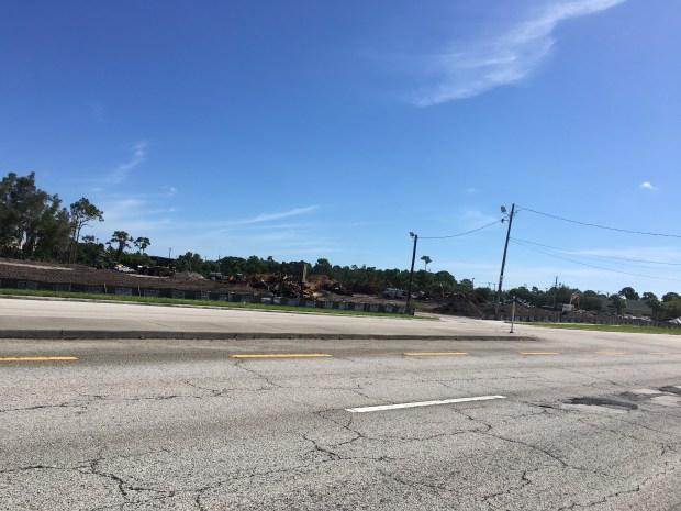 Site of car max on Jensen Beach Blvd.