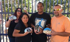 PSL ROCKS DONATES FIVE ROCKS FOR FUNDRAISING TO BGCSLC