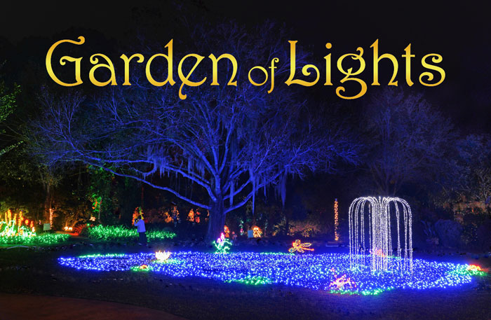 Heathcote's Garden of Lights Holiday Festival