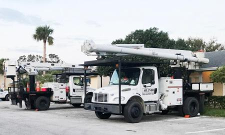 Historic Dodgertown home base to crews assisting with Hurricane Irma restoration