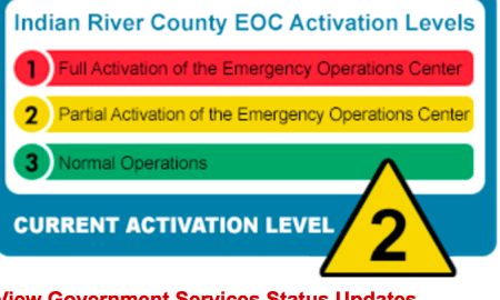 Indian River EOC IRMA update Sept 7