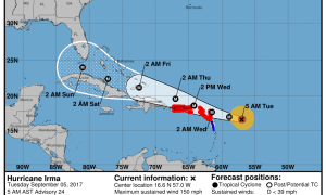 Treasure Coast in Hurricane Irma's cone