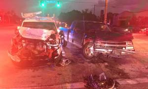 2 transported to hospital after crash at Airoso and Prima Vista