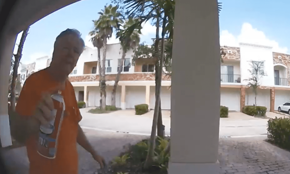 Elderly man arrested on stalking charges for harassing his neighbor